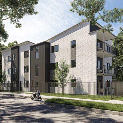 Puhinui apartments, exterior